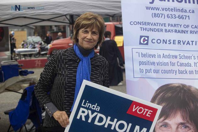 Thunder Bay-Rainy River Conservative candidate Linda Rydholm