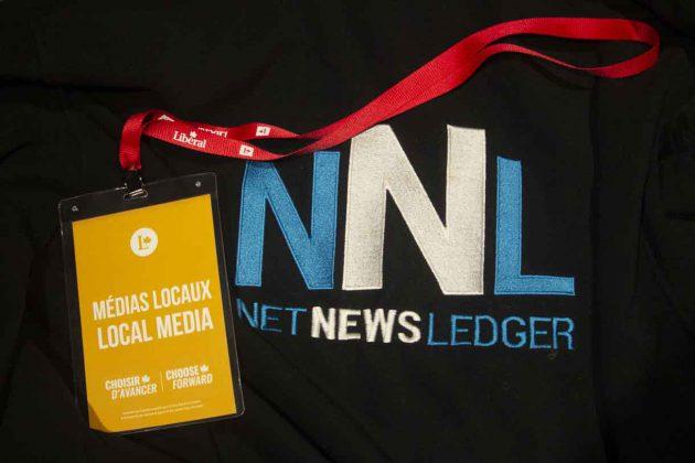 Local media at Liberal Rally