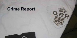 Ontario Provincial Police Crime report