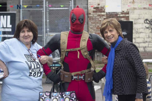 Lori Paras the character from Deadpool and Conservative candidate Linda Rydholm