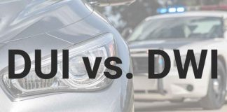 The Difference Between DUI and DWI