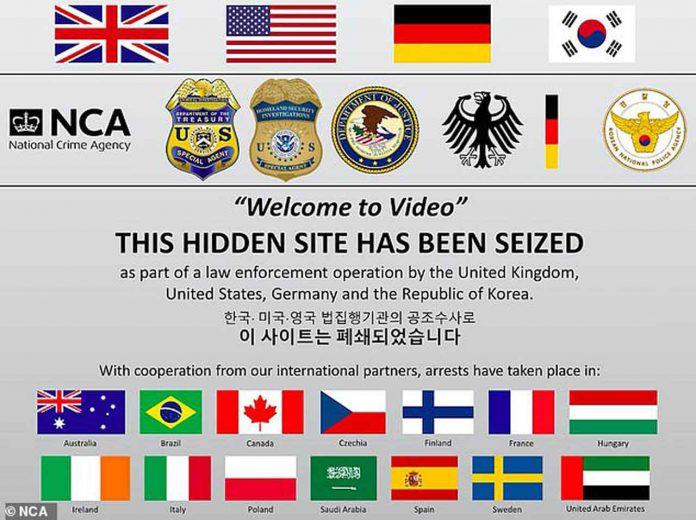 darknet website seized