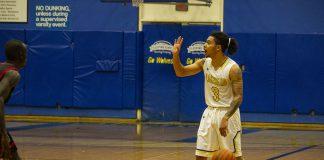 Thunderwolves Basketball Eric Gonzalez