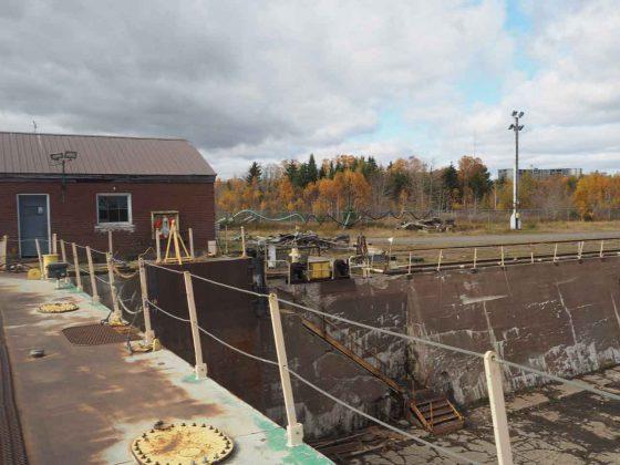 Heddle Shipyard in Thunder Bay