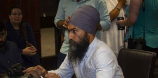 New Democrat Leader Singh at Confederation College