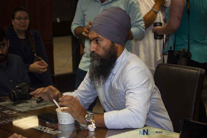 New Democrat Leader Singh at Confederation College