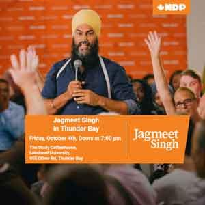 Jagmeet Singh Leader's Visit