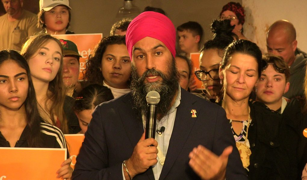 New Democrats were enthused and excited to hear their leader Jagmeet Singh in Thunder Bay