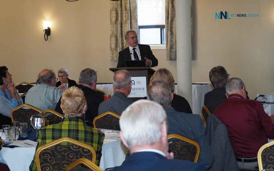 Superior North EMS - Wayne Gates addresses Thunder Bay District Municipal League