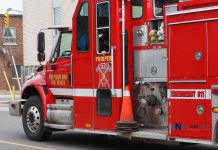 Thunder Bay Fire Rescue Pumper