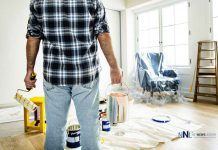 People renovating the house making their living spaces better