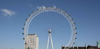 The London Eye is one of the newest attractions in the city