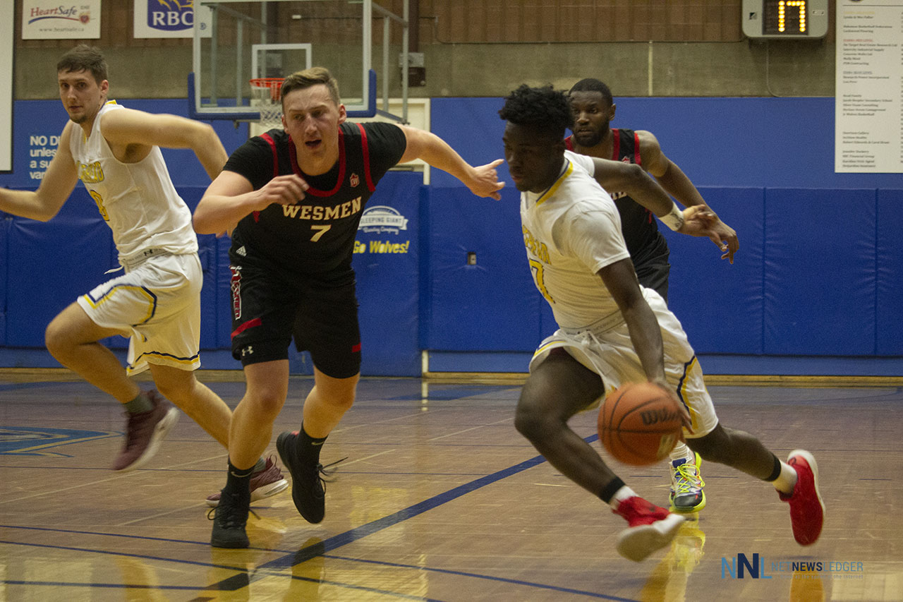 The intensity was there, but the Wesmen won the game over the Lakehead Thunderwolves