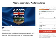 Wexit, Western Separation Petition surfaces following election