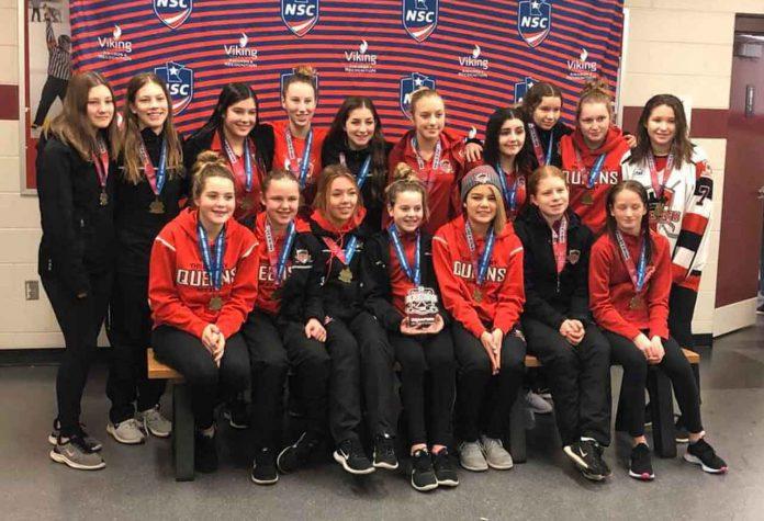 Bantam AA Queens Capture All American Gold
