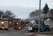 Bethune Street Fire - Crews on site this morning