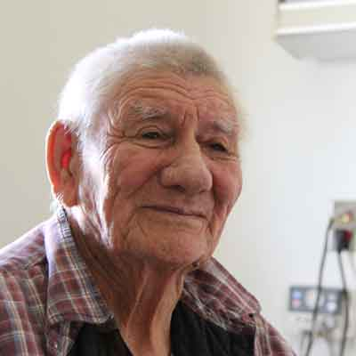 Elder Eli Metatawabin, Attawapiskat First Nation