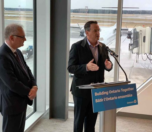 Greg Rickford - Reducing Aviation Fuel Tax Rate in Northern Ontario Part of the Government's Plan to Build Ontario Together