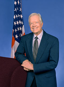 Jimmy Carter former President of the United States. Image: The Cartter Center