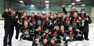 Peewee Kings Mine Gold in Sudbury Photo credit: Gino Donato