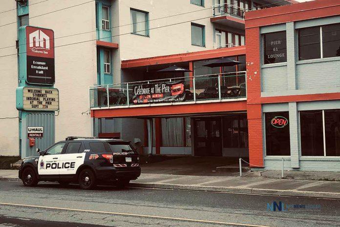 Police at Midtown Inn