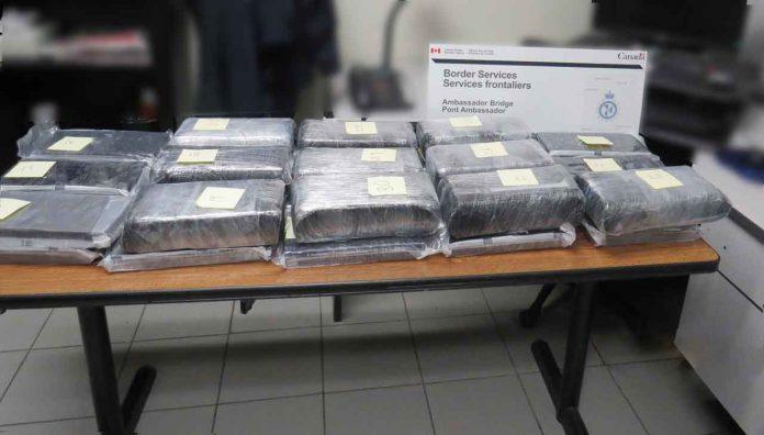 CBSA and RCMP Seized 40 Kilos of Cocaine