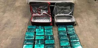 43 kg of seized cocaine - Image RCMP