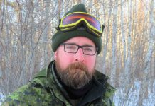 Charles Ohike - - Photo by Sgt. Peter Moon Canadian Rangers