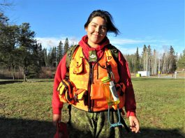 Master Corporal Lilly Kehick - Photo by Sgt. Peter Moon Canadian Rangers