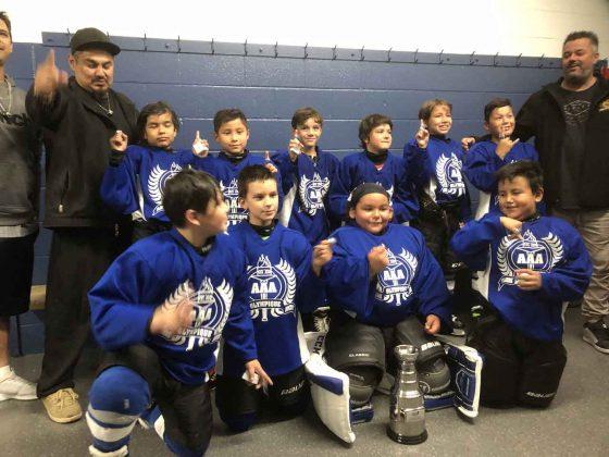 Flamme Olympique Hockey AAA and APBM U18 and U20 Team Canada International