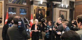 Canada's Minister of Health Patty Hajdu states the risk for Canadians is low