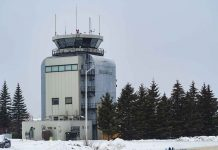 Tower at Thunder Bay International Airport