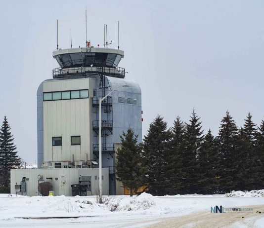 Tower at Thunder Bay International Airport