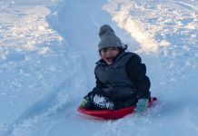 Stop fighting winter, grab a hold and slide into smiles.