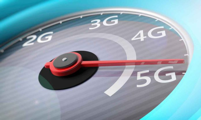 5G High speed network means faster connection speeds for business and fun
