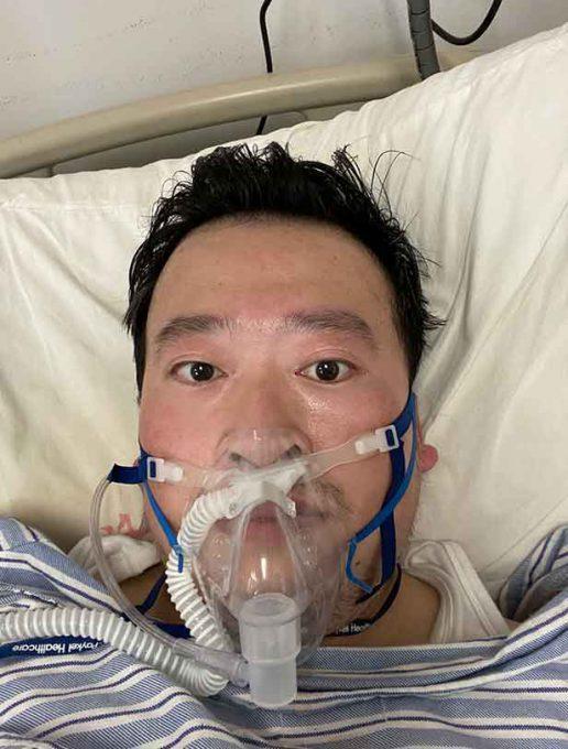 Chinese Doctor Li Wenliang - Dead of novel coronavirus
