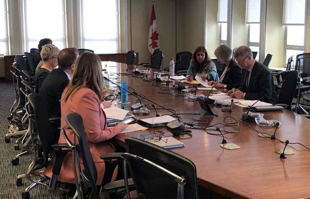 Canada's Minister of Health Chairs meeting on coronavirus