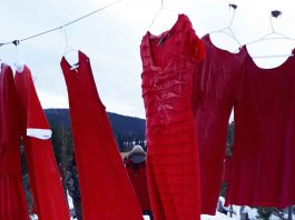 Red Dresses to remember MMIWG