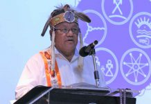 Grand Council Chief Glen Hare