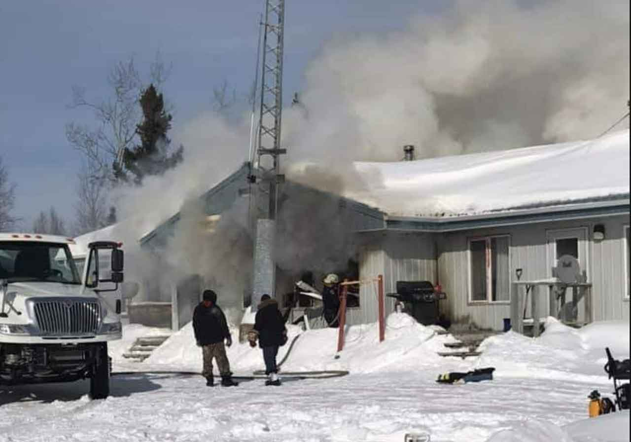 bearskin Lake NAPS Headquarterss - Image Facebook