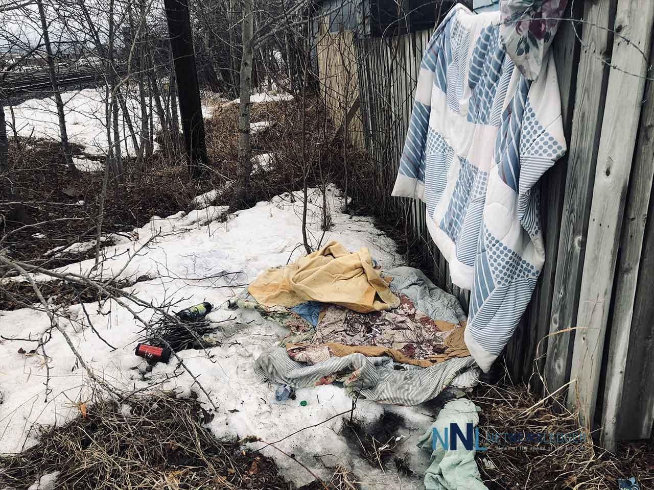 Homelesss in Thunder Bay