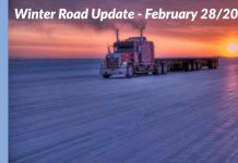 Winter Road update