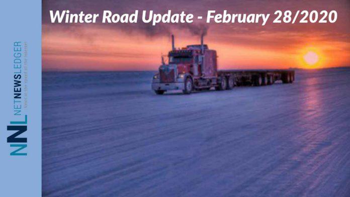 Winter Road update