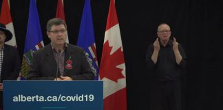 Government of Alberta COVID-19 Update