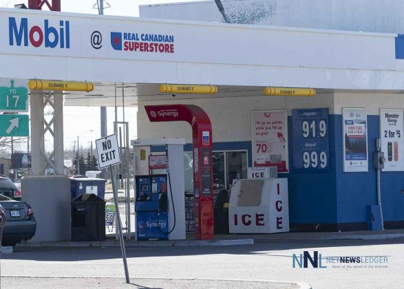 Gas Prices in Thunder Bay on April 30 2020