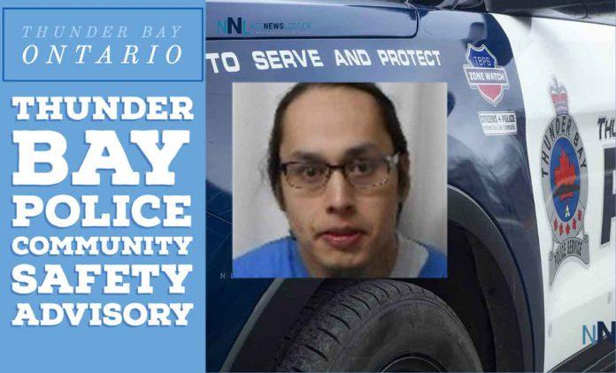 Community Safety Advisory – High Risk Offender residing in Thunder Bay