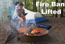 The Fire Ban for Northwestern Ontario will be lifted as of 12:01 Am on May 30 2020