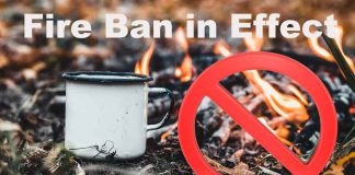 Fire Ban is in effect