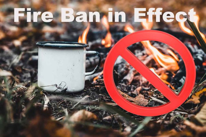 Fire Ban is in effect