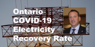 COVID-19 Recovery Rate, of 12.8 cents per kWh